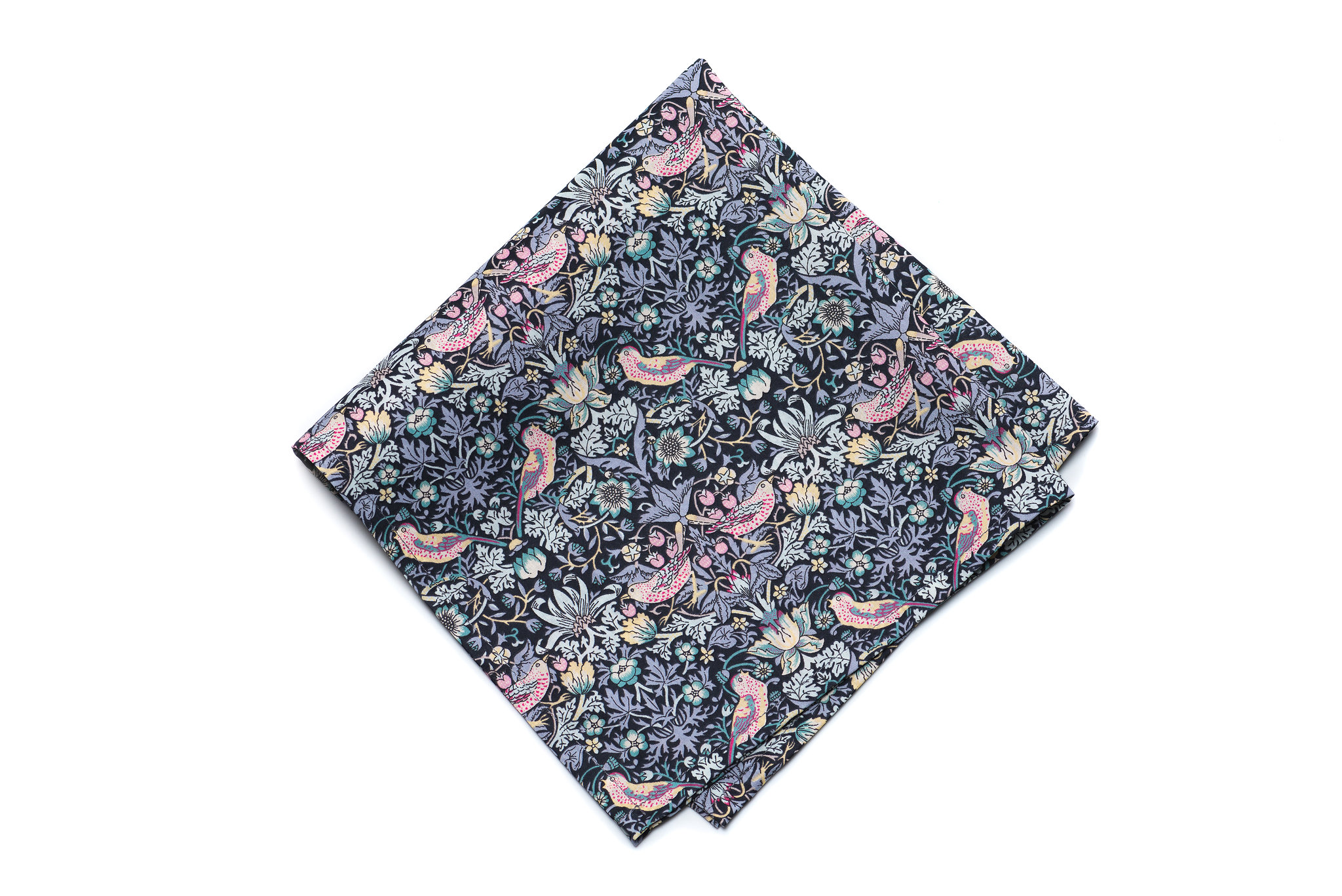 POMP AND CEREMONY  POCKET SQUARES - It's all in the details....We love the patterns and heritage of Liberty Prints and the way Pomp and Ceremony has used them in these great pocket squares. Made of soft easy to wear cotton lawn fabrication these pocket squares are a great staple for completing your look.