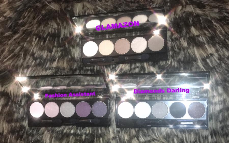 Our three Eye Shadow Palettes