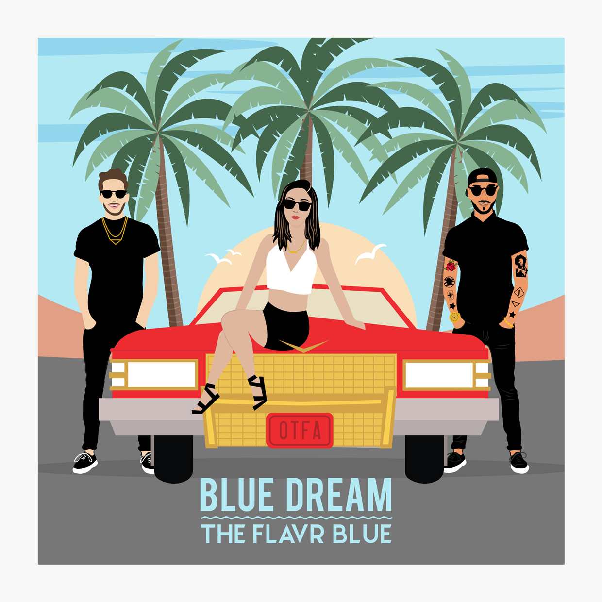 The Flavr Blue's sophomore LP Blue Dream out now!   - Click to listen on Spotify // Apple Music  // Soundcloud