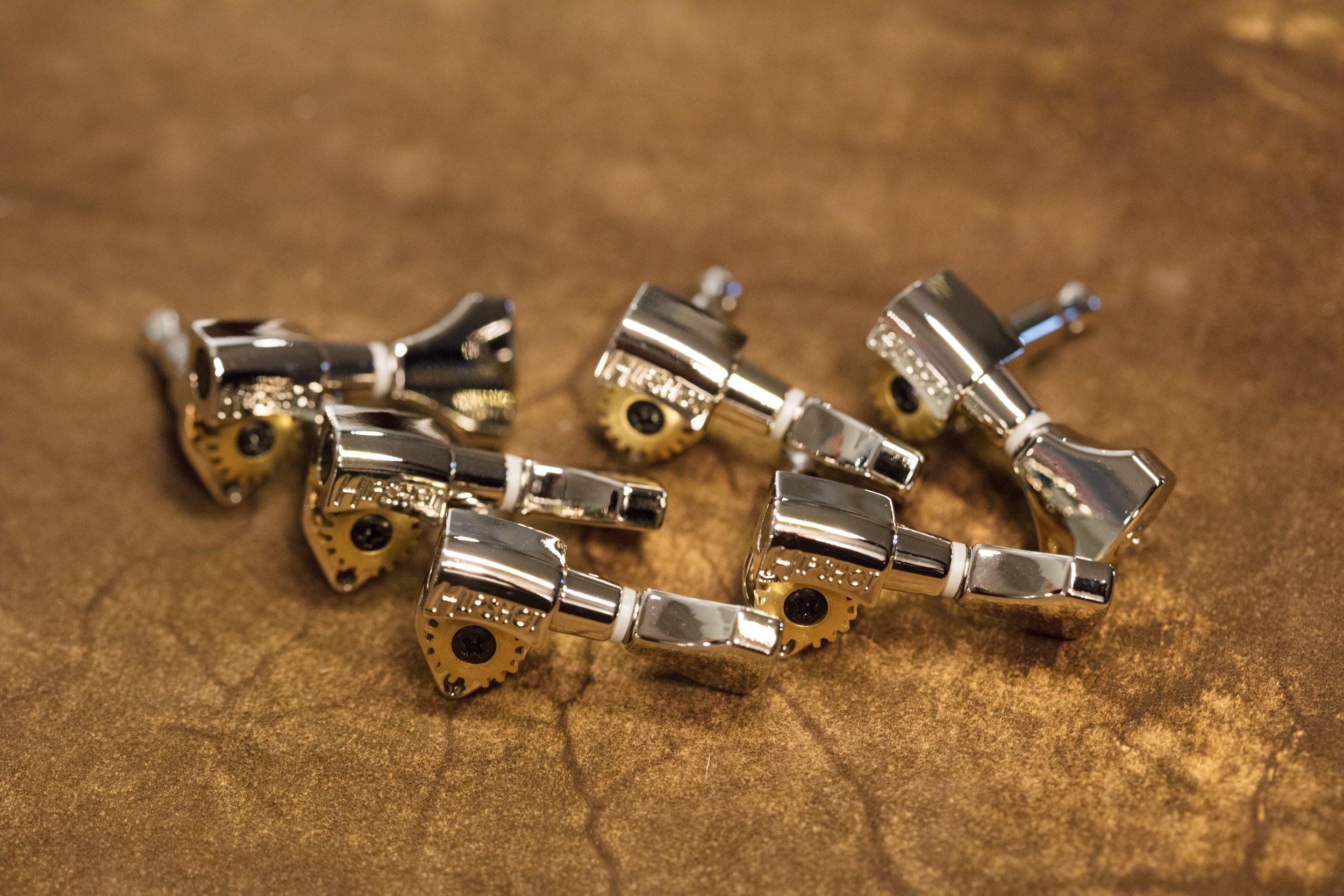 Hipshot Open Gear Nickel Tuners