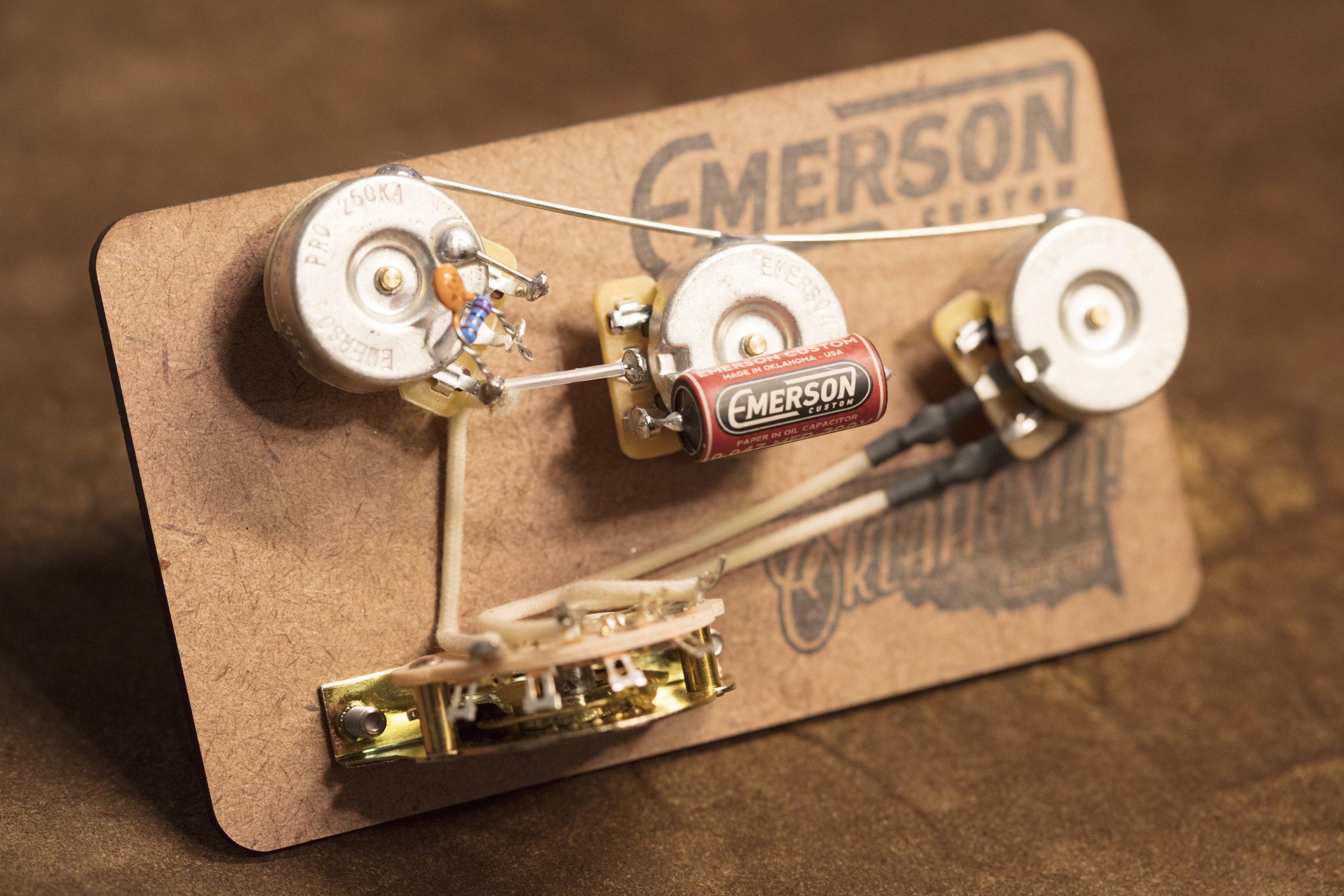 Emerson Custom 5-way Prewired Strat Kit
