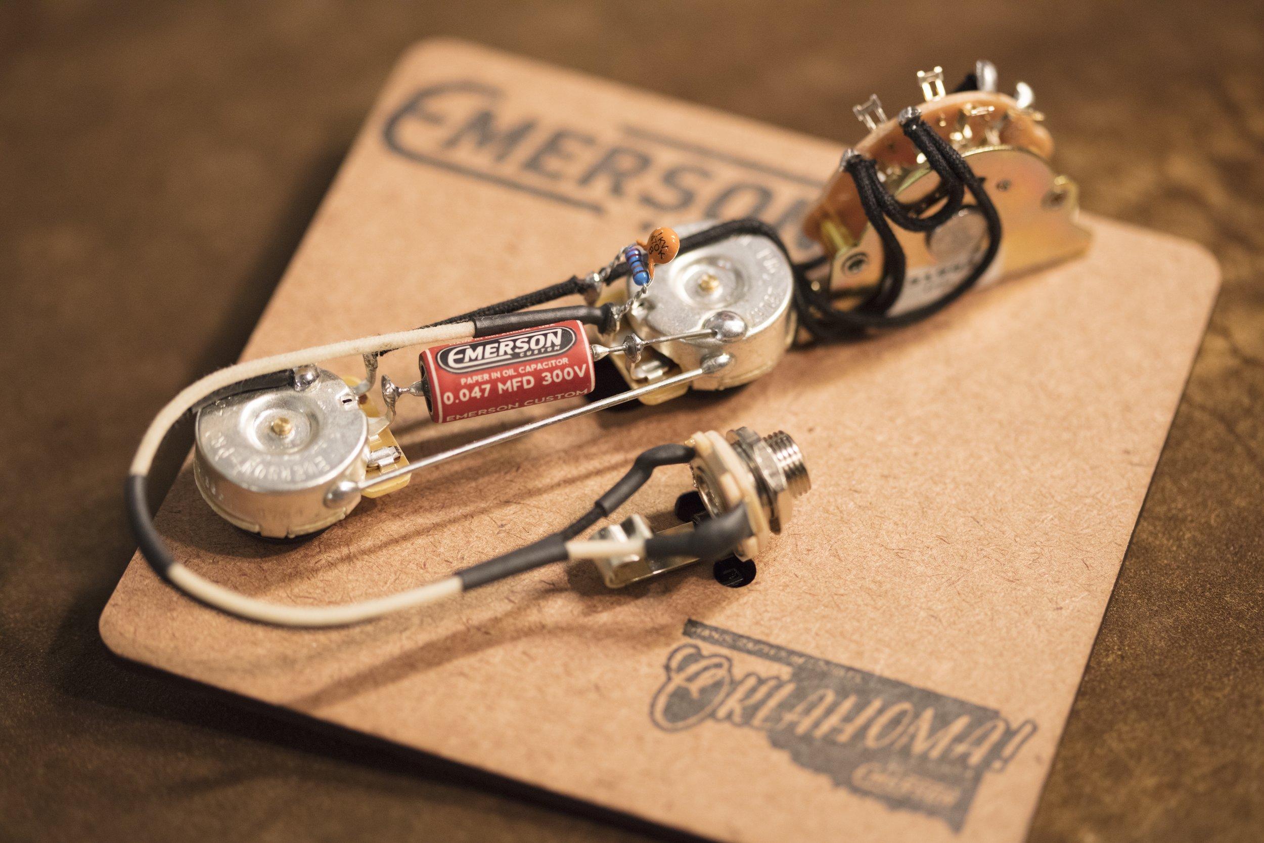 Emerson Custom 3-way Prewired Tele Kit