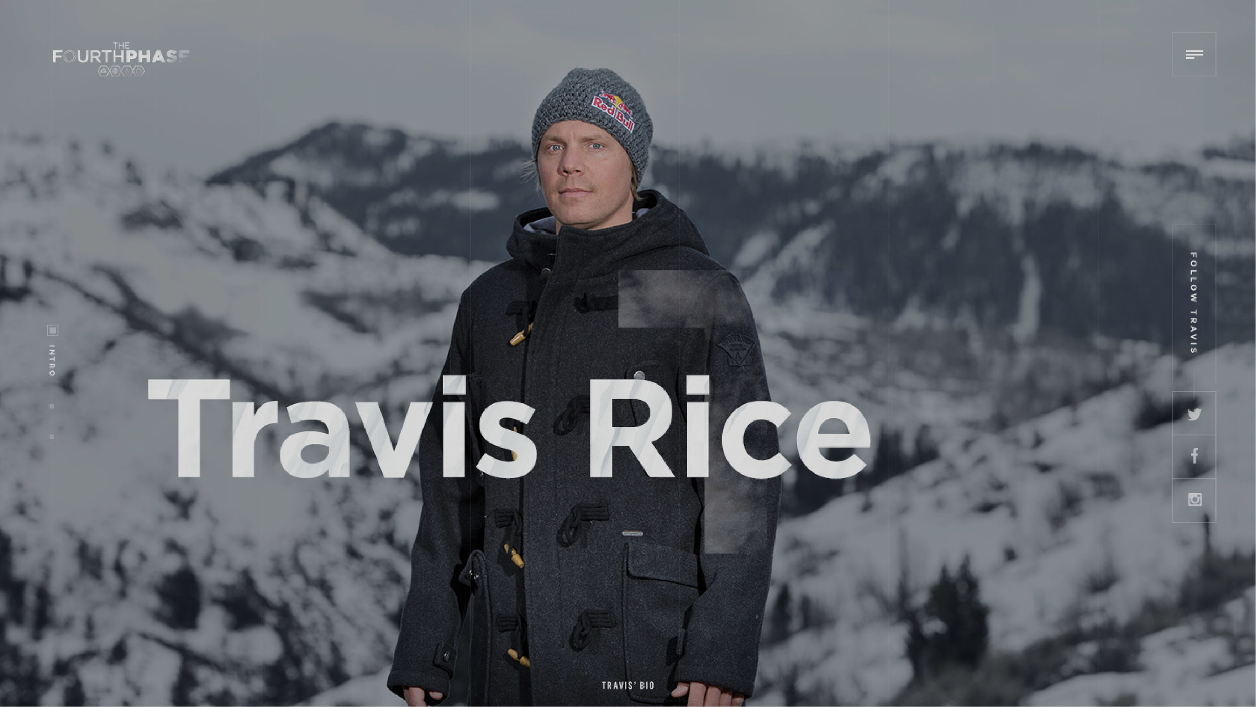 Red Bull North America & Travis Rice .  The Fourth Phase launch experience