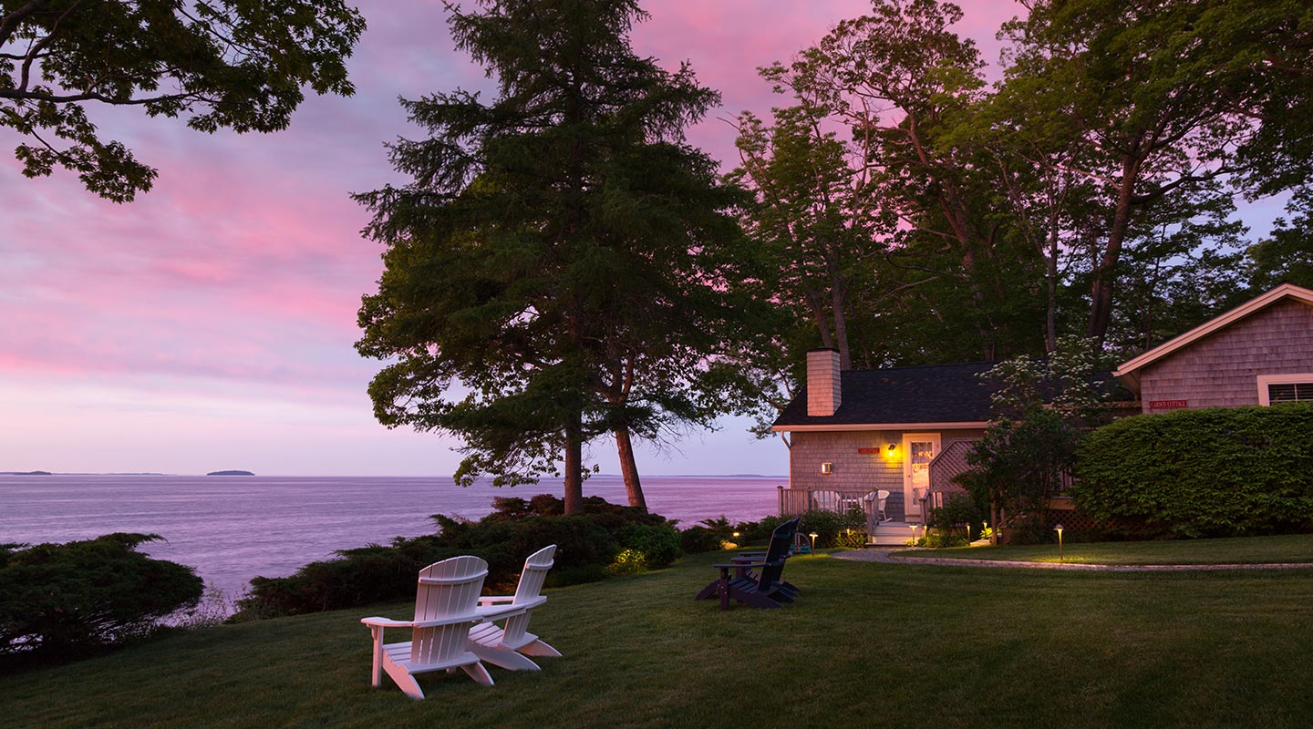 The Inn At Sunrise Point - Less than a mile up the road is a luxury bed and breakfast set on five secluded acres with private access to the rocky shoreline of Lincolnville. This coastal Maine Inn is a romantic oceanfront hideaway.For reservations,call (207) 236-7716.