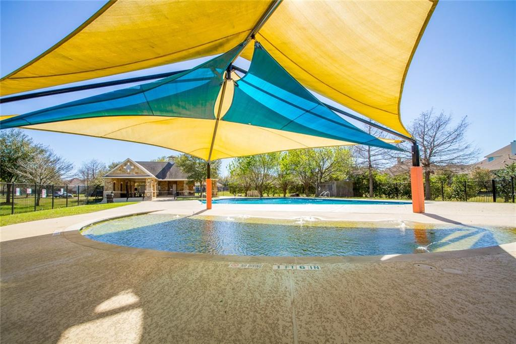 This is just one of the 2 neighborhood pools!