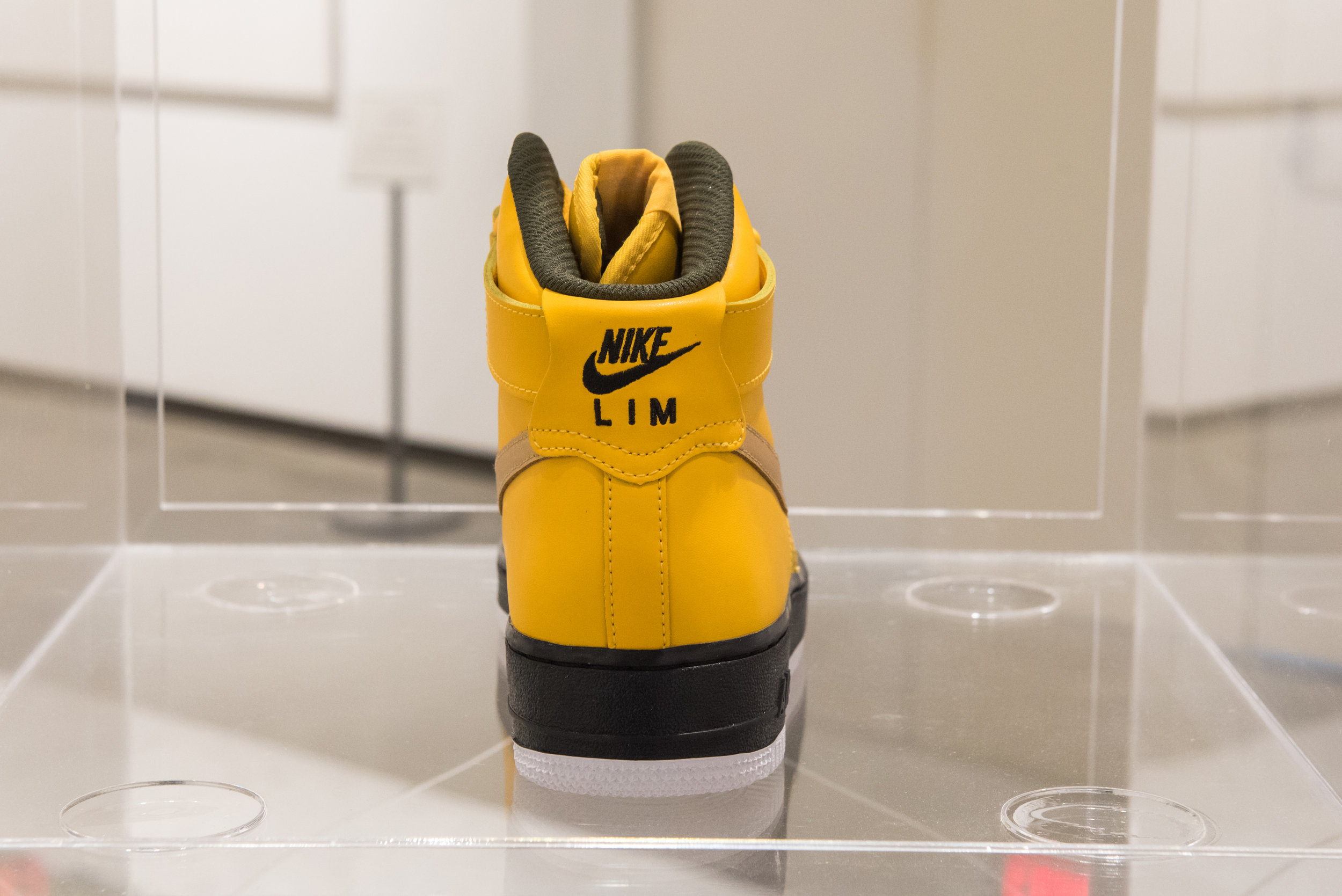 Nike ID #2 , Nike ID Tag customized Nike Air Force One mid-top shoes, 2018