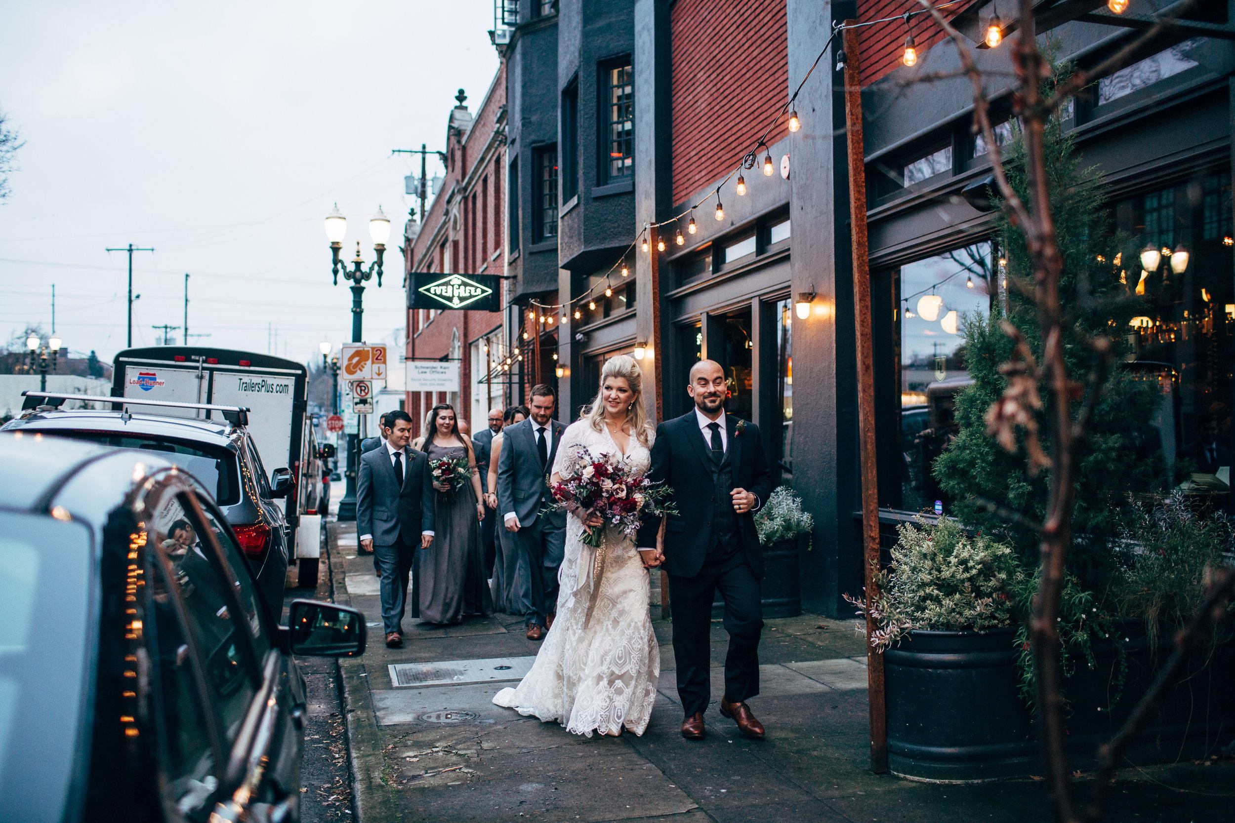 evergreen portland wedding