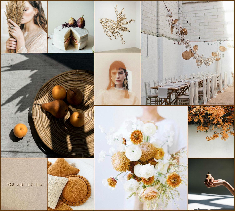 GOLDEN HOUR WEDDING INSPO -