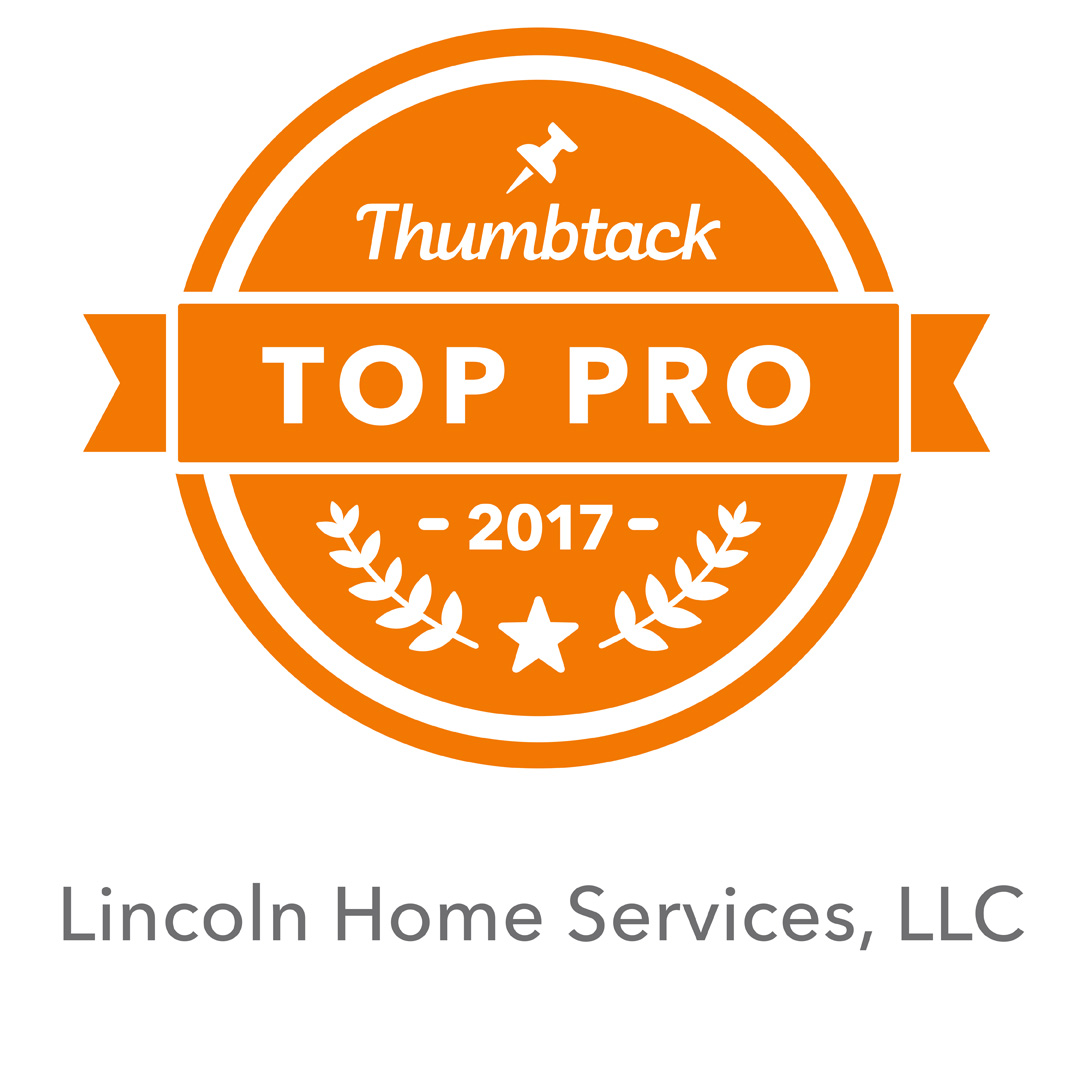 Less than 5% of Thumbtack Pros are awarded the Top Pro Badge
