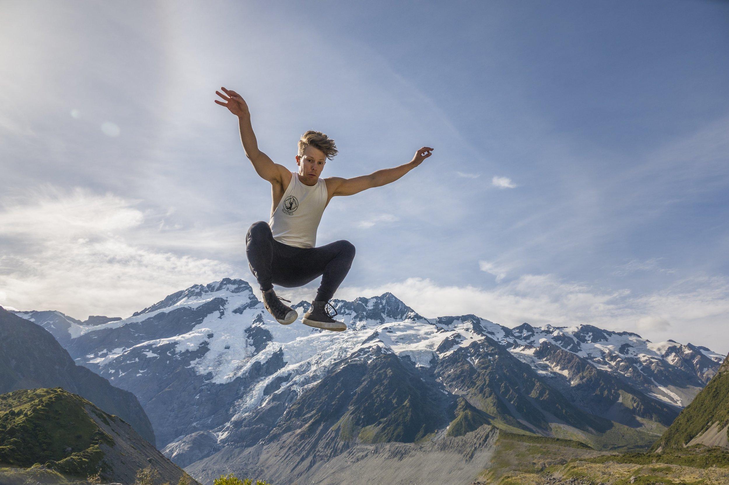 Finally jumping mountains
