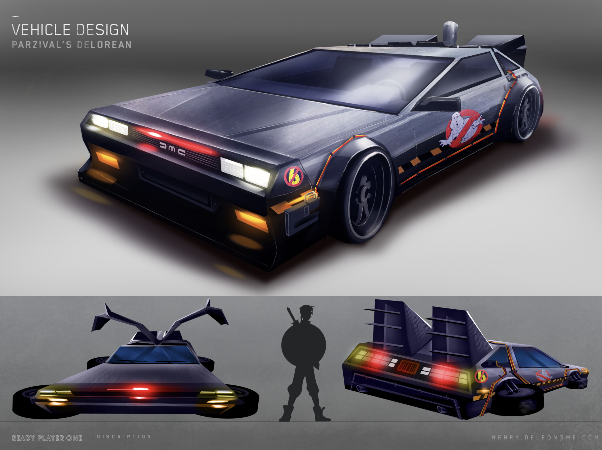 Concept Art Ready Player One
