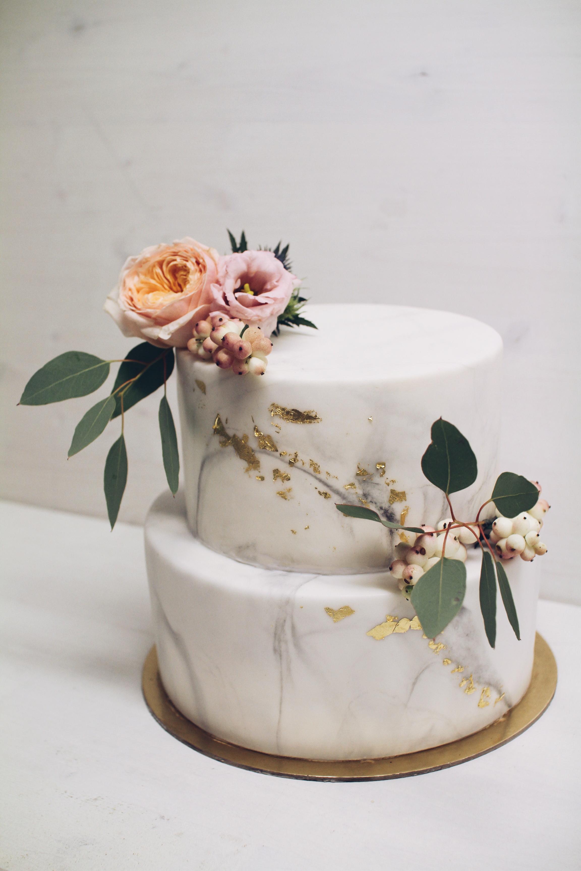 Marble torta za poroko.