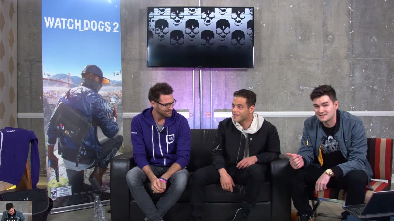 Watch Dogs 2: Rami Malek + Developers | Ubisoft