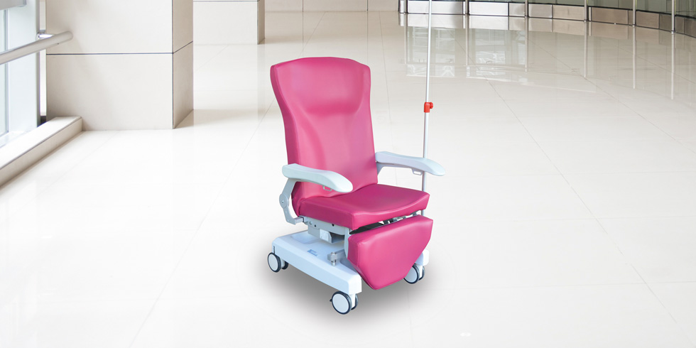 CAREXIA FP - Carexia FP, is a chair designed for post-surgery rest, blood sampling, care or examination, chemotherapy or hemodialysis.click here for the online brochureclick here for the range of colours