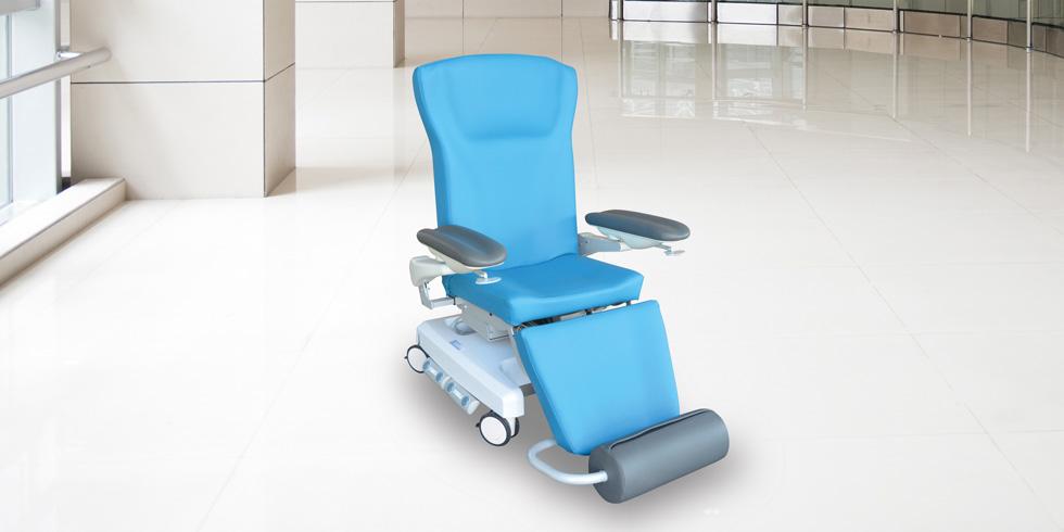CAREXIA FPVE - Carexia FPVE, is a chair designed for post-surgery rest, blood sampling, care or examination, chemotherapy or hemodialysis.click here for the online brochureclick here for the range of colours