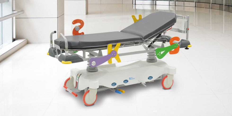 CARVI KIDS - CARVI KIDS is an height-adjustable paediatric trolley stretcher.Click here for the online brochureClick here for more details