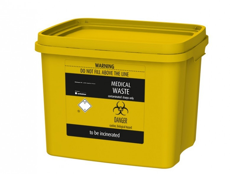 Emsharp 30 L - Reference:7300Volume:30Dimensions (L x W x H):400 x 312 x 330 mmTotal Capacity:10 000 mlUseful Capacity:24 000 mlDecoration:Label | IML