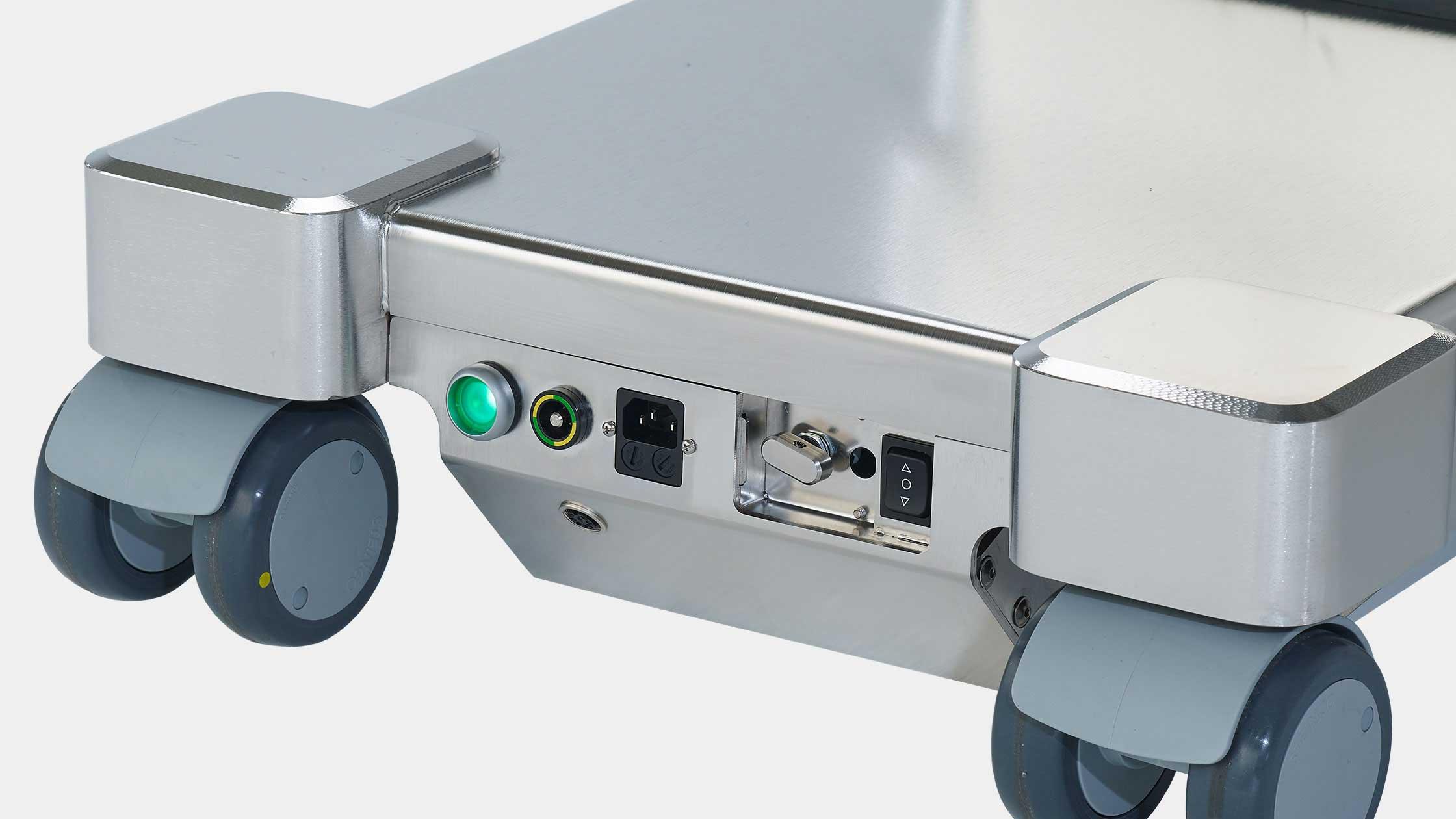 Back-up system for medifa 7000