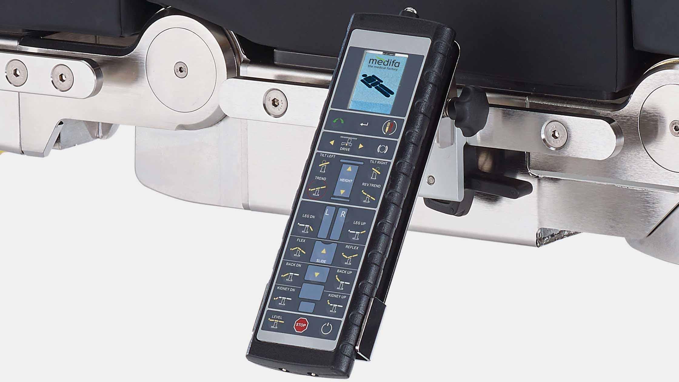 Infrared remote control for medifa 7000