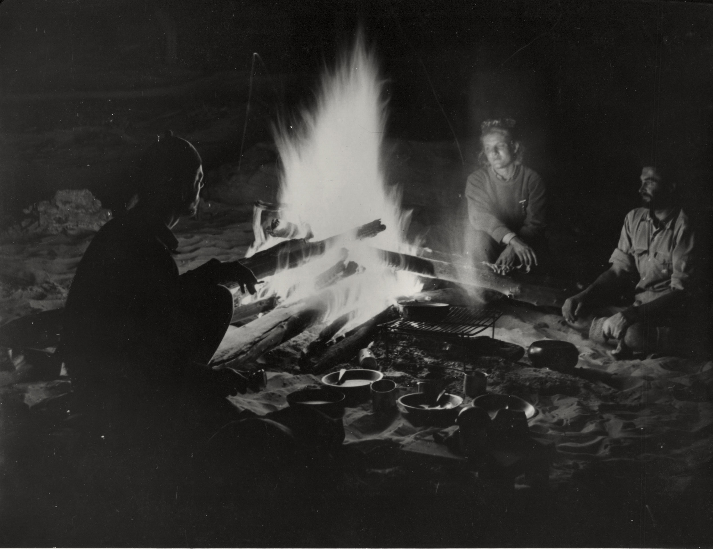 French Trio Campfire small.jpg