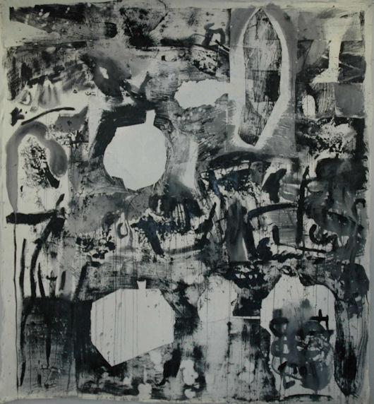 Origins 1, acrylic on linen, 5'x6', 2010