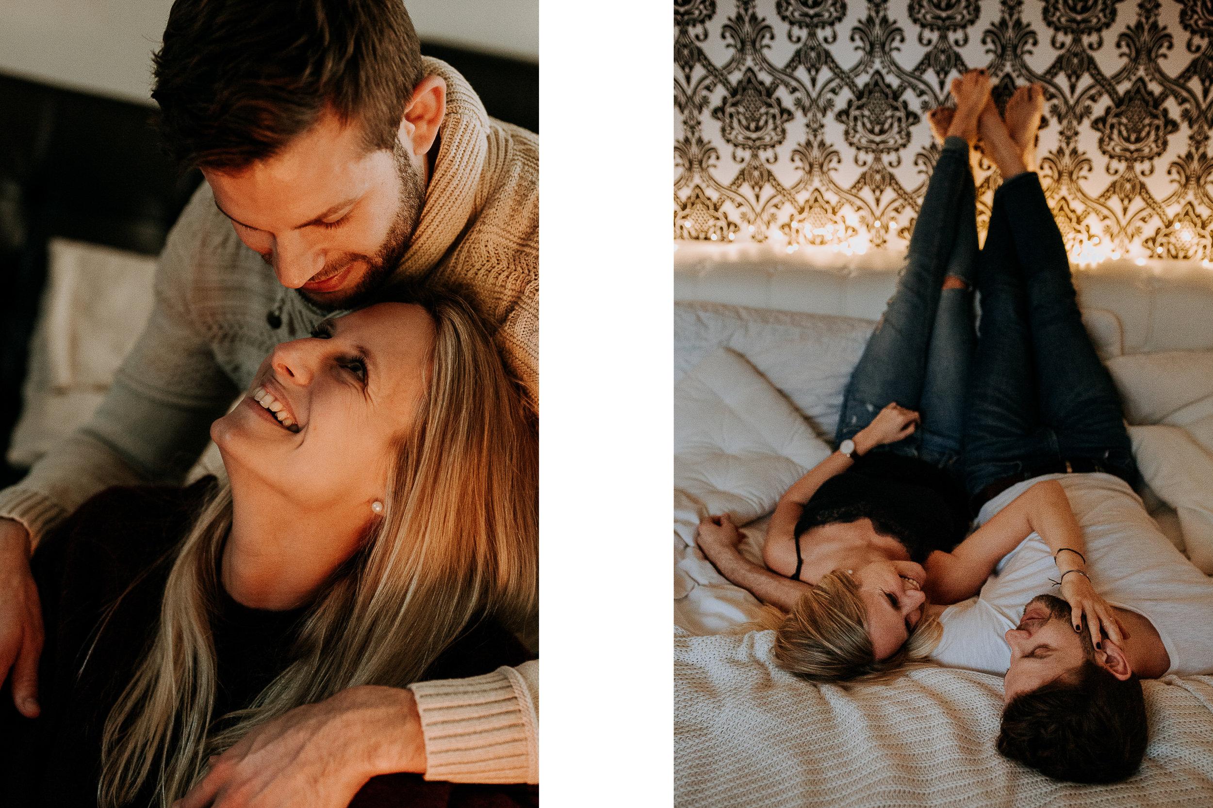 cozy home story couple photoshoot