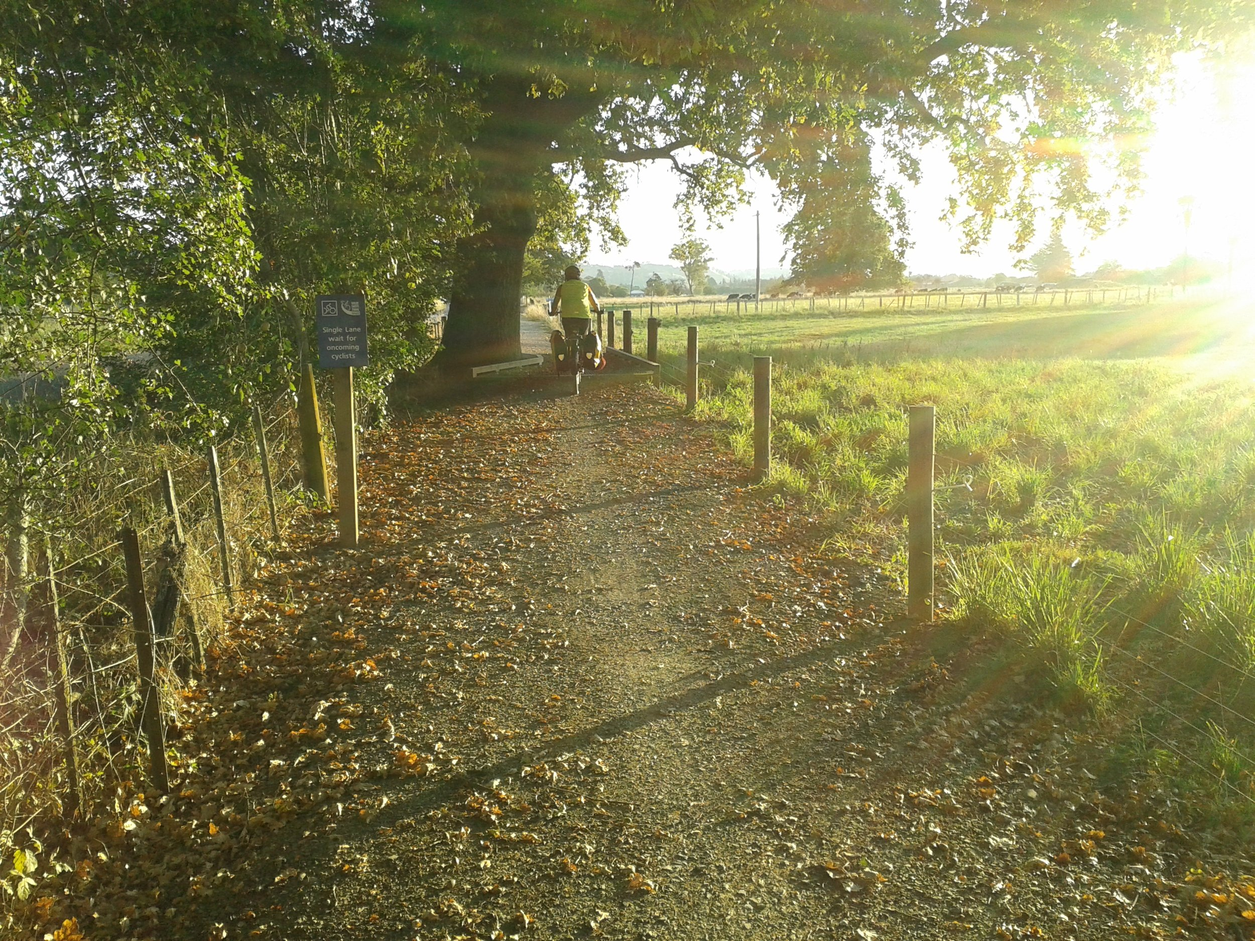 Great Taste Trail Rail Route near Wakefield