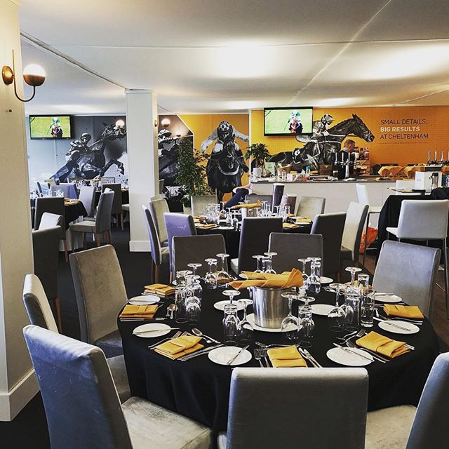 Today is the day! #Cheltenham #GoldCupDay 🏆 - Here is another #hospitality area we designed & created! 🏇  #creatingadesigndifference #happyfriday @cheltenhamraces @cheltenhamraces #betfair @betfair