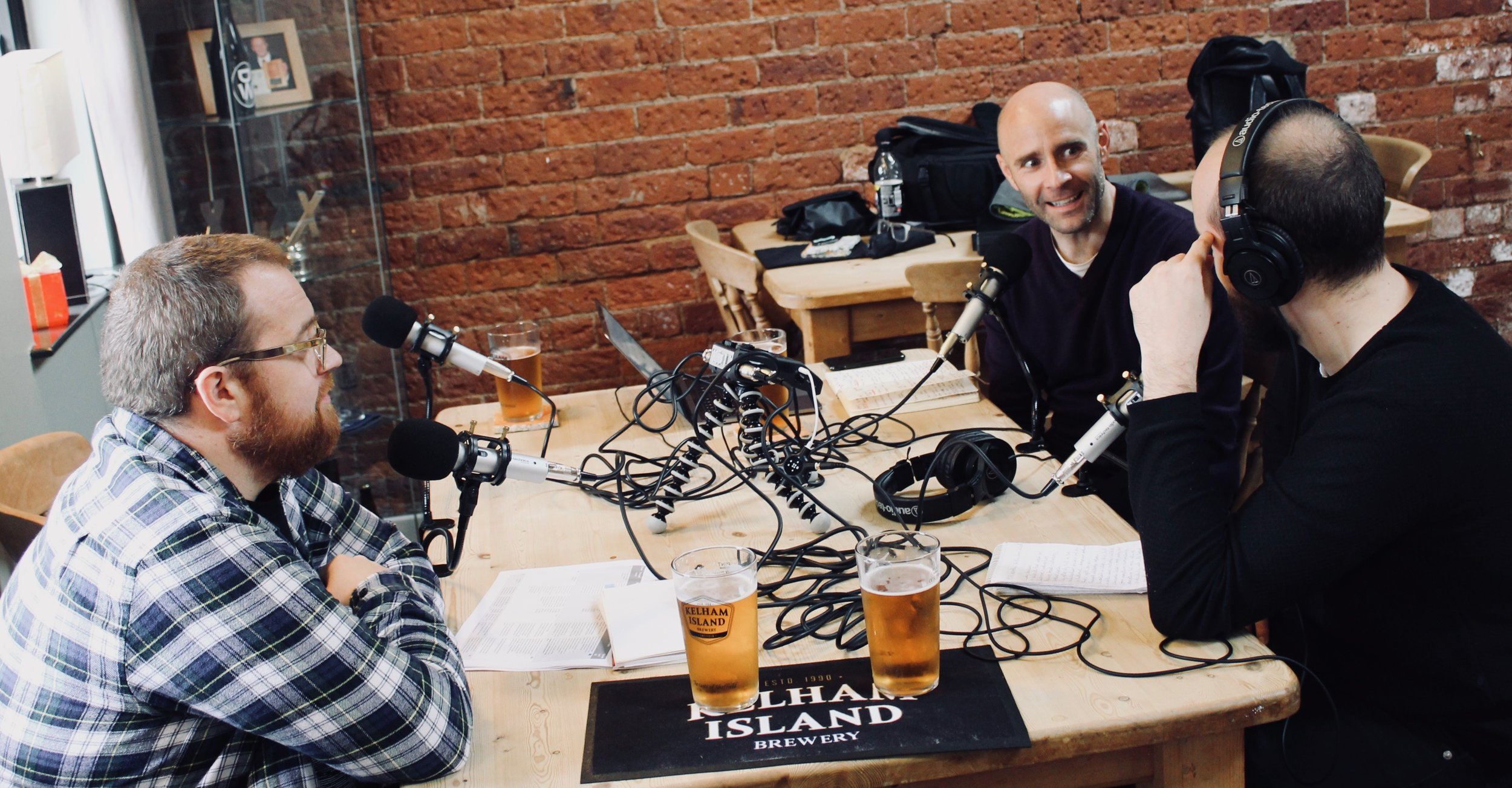 recording workplace matters  episodes 15 & 16 at kelham Island Brewery, Sheffield