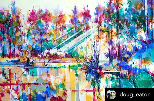 Repost from @doug_eaton Latest commission: Meadowcliff Pond, acrylic on canvas, 91 x 61cm  Ref: 019-008 To discuss a potential commission please feel free to email doug@dougeaton.co.uk • • • #acryliconcanvas #acrylicpainting #forestofdean #deanwye #wyevalley #gloucestershire #dougeaton #art #semiabstract #semiabstractpainting #semiabstractlandscape #abstractlandscape #abstractart #landscapepainting #painting #commission #paintingcommission #pond #pondpainting #cinderford #meadowcliffpond #steammills #nofilter