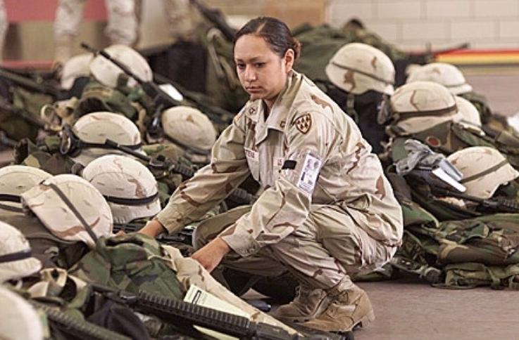 Lori Piestewa, on deployment day