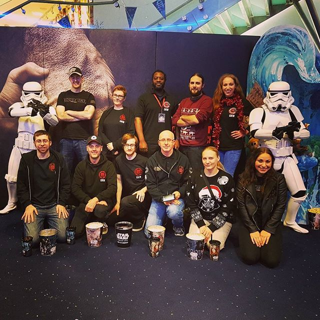 The Close of what has been a very successful few days at @intumetrocentre on the opening weekend of #RogueOne we raised over £1200 for @odeoncinema 's chosen Charity @Mindcharity #YouDontKnowThePowerWeAreDealingWith #StarWars #99thGarrison