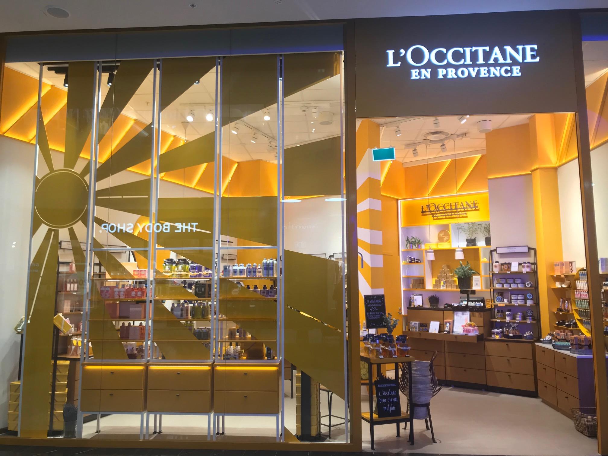 l'occitane - Mall of Scandinavia Stockholm
