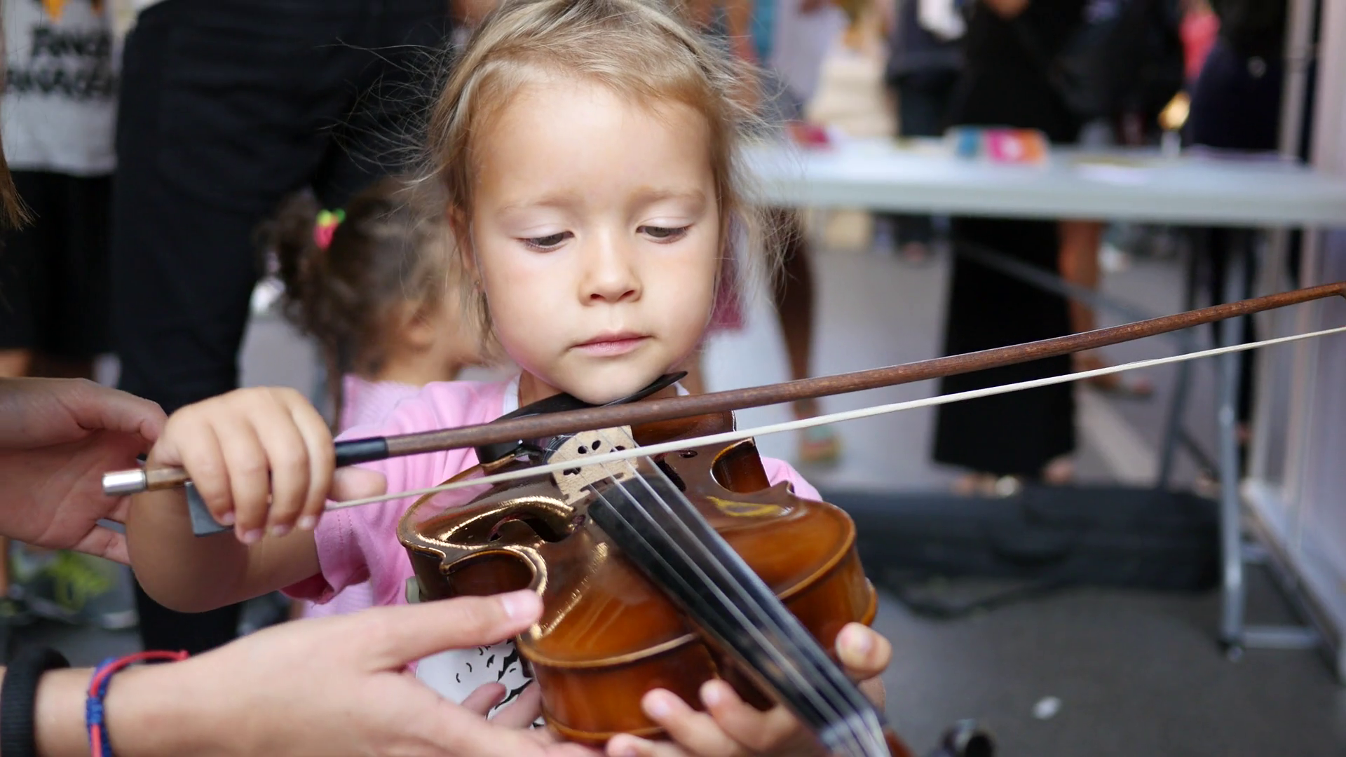 Violin Demonstration - See, hear, and experience a broad range of the violin's music while learning more about one of the world's most popular instruments.