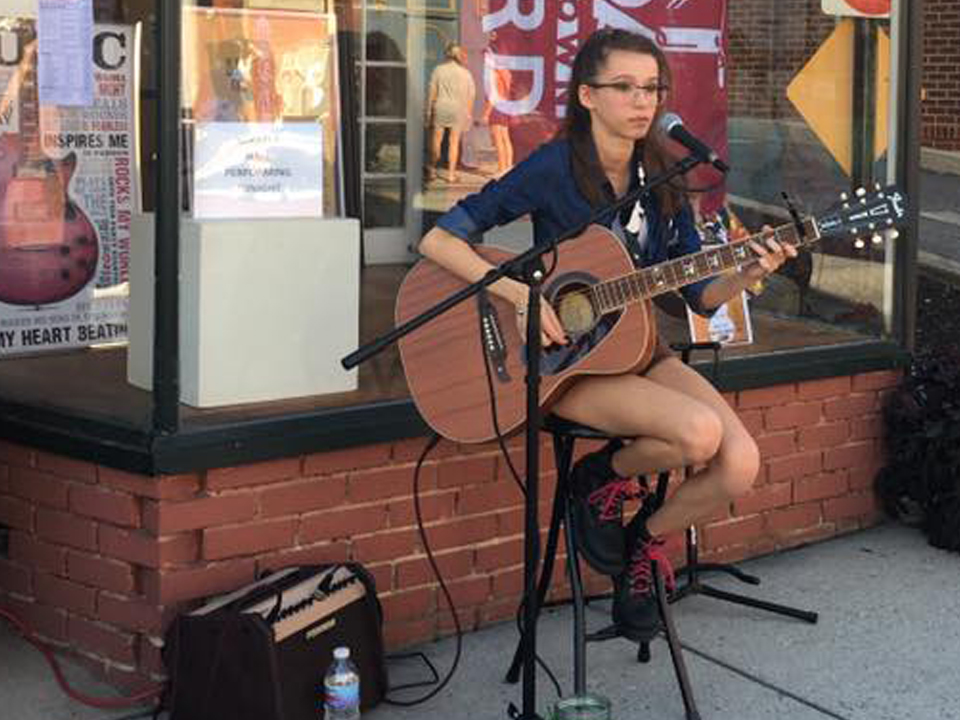 Emerging Artists - Join local emerging singer / songwriters, Mikaela Hall and CJ for a presentation of their original music and experience their young talent.
