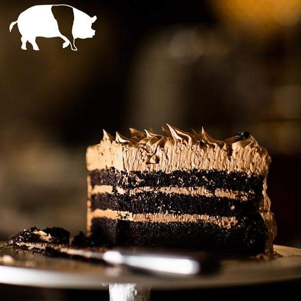It's Best Friends Day!! Treat your bestie to a slice of our Chocolate Layer Cake covered in French Chocolate Buttercream - and then grab one for yourself!! #bestfriendsday #bffs #chocolatelayercake #frenchbuttercream #allthechocolate #tuscantable #southportland #maine  Visit our sister restaurants: @royalrivergrillhouse @tuscanbrickovenbistro