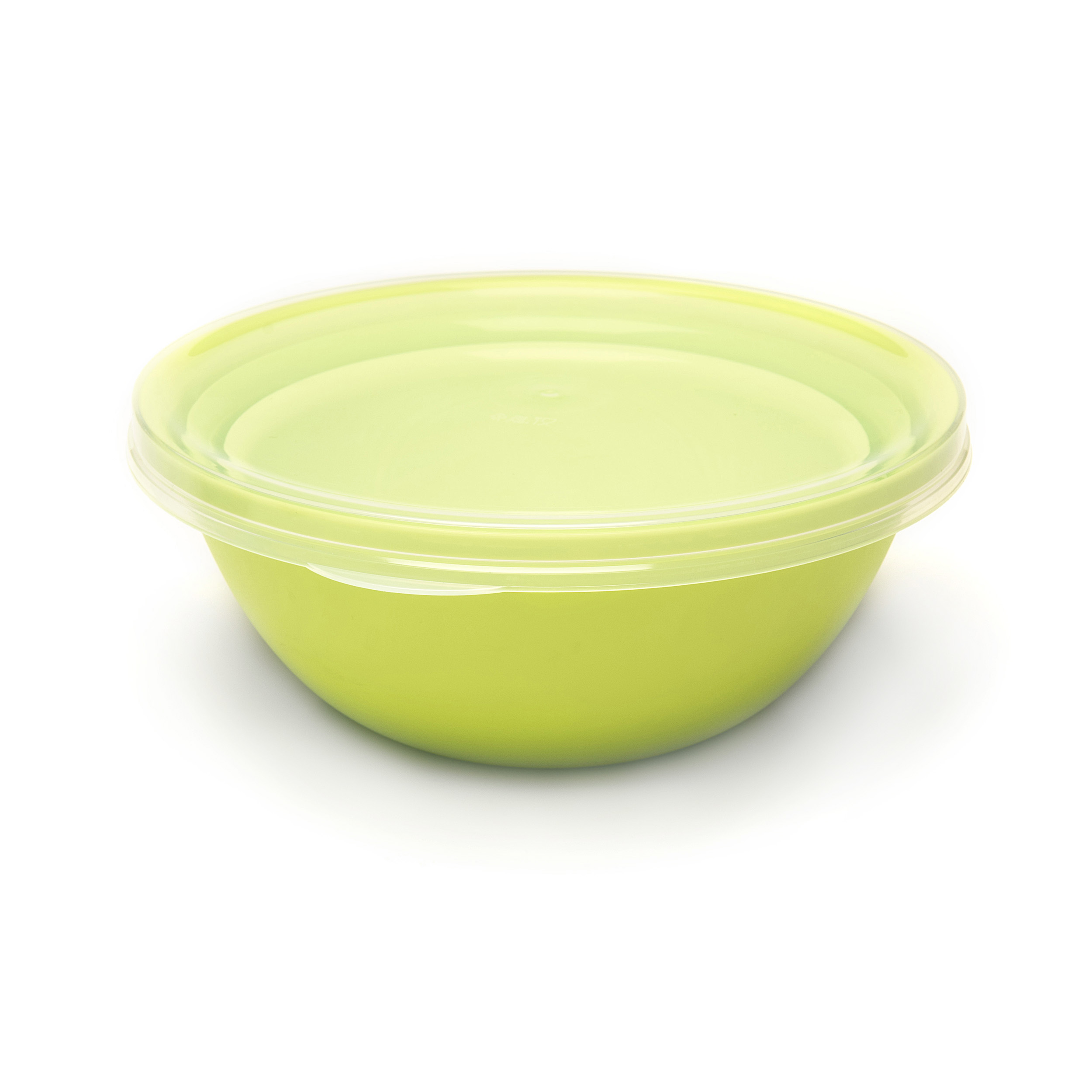 Serving Bowl 3-Pack with Lid - .... These serving bowls are ideal for all occasions. They come in a set of 3 formats: 1200, 1700 and 2400 ml. This makes them easy to stack inside each other, saving you valuable space. Forgotten what you used them for? No worries! Thanks to the transparent lid it is easy to see what's inside. .. Ces saladiers conviennent à chaque occasion. Ils sont disponibles en 3 formats : 1200, 1700 et 2400 ml. Faciles donc à empiler avec, à la clé, un fameux gain de place. Vous avez oublié ce que vous y avez mis précisément ? Inutile de l'ouvrir : un seul coup d'œil à travers le couvercle transparent et vous êtes fixé(e). .. Deze serveerkommen zijn geknipt voor elke gelegenheid. Je krijgt ze in 3 formaten: 1200, 1700 en 2400 ml. Daardoor zet je ze gemakkelijk in elkaar en bespaar je plek. Vergeten wat je er precies instopte? Dankzij het doorzichtige deksel heb je aan een snelle blik genoeg. .. Diese Servierschüsseln eignen sich für jede Gelegenheit. Sie sind in 3 Formaten erhältlich: 1200, 1700 und 2400 ml. Dadurch lassen sie sich einfach stapeln und sparen Platz. Vergessen, was Sie darin aufbewahrt haben? Dank des durchsichtigen Deckels können Sie sich mit einem Blick überzeugen. ....
