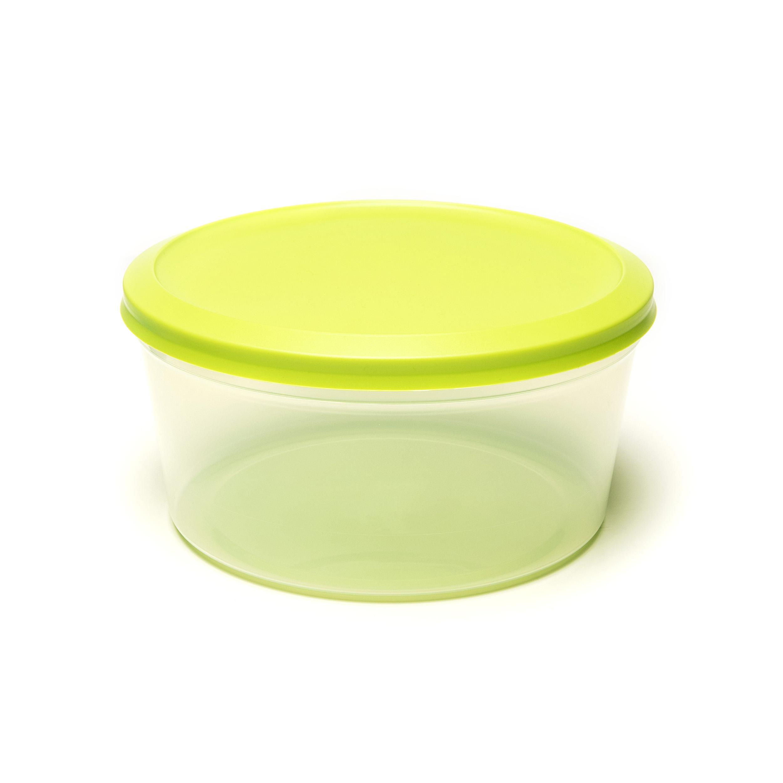Vacutop Round 4000ml - .... Super fresh food? Keep it in a VacuTop® box. Thanks to its hermetic seal, your food will remain noticeably fresher for longer. Stack and store? It's easy peasy. Your VacuTop® is indestructible: it will stand up to the dishwasher and microwave – provided you remove the lid when using the latter. ..Un repas d'une fraîcheur exquise ? Une boîte VacuTop® vous le garantira. Grâce à sa fermeture hermétique, vos aliments restent frais vraiment plus longtemps. L'empiler et la ranger ? Simple comme bonjour. Votre VacuTop® est inusable : elle convient pour le lave-vaisselle et micro-ondes – pour autant que vous en enleviez le couvercle. ..Kraakvers eten? Dat bewaar je in een VacuTop®-doos. Dankzij de hermetische afsluiting blijft je eten merkbaar langer vers. Stapelen en wegbergen? Een fluitje van een cent. Je VacuTop® is onverslijtbaar: hij is bestand tegen vaatwasser en microgolfoven – zolang je bij die laatste het deksel maar verwijdert. ..Knackfrische Speisen? Die sollten Sie in einem VacuTop®-Behälter aufbewahren. Dank des hermetischen Verschlusses bleiben Ihre Speisen spürbar länger frisch. Stapeln und aufbewahren? Das ist ein Kinderspiel. Ihr VacuTop® ist unverwüstlich: Er ist spülmaschinenfest und mikrowellengeeignet – solange Sie in der Mikrowelle den Deckel entfernen. ....