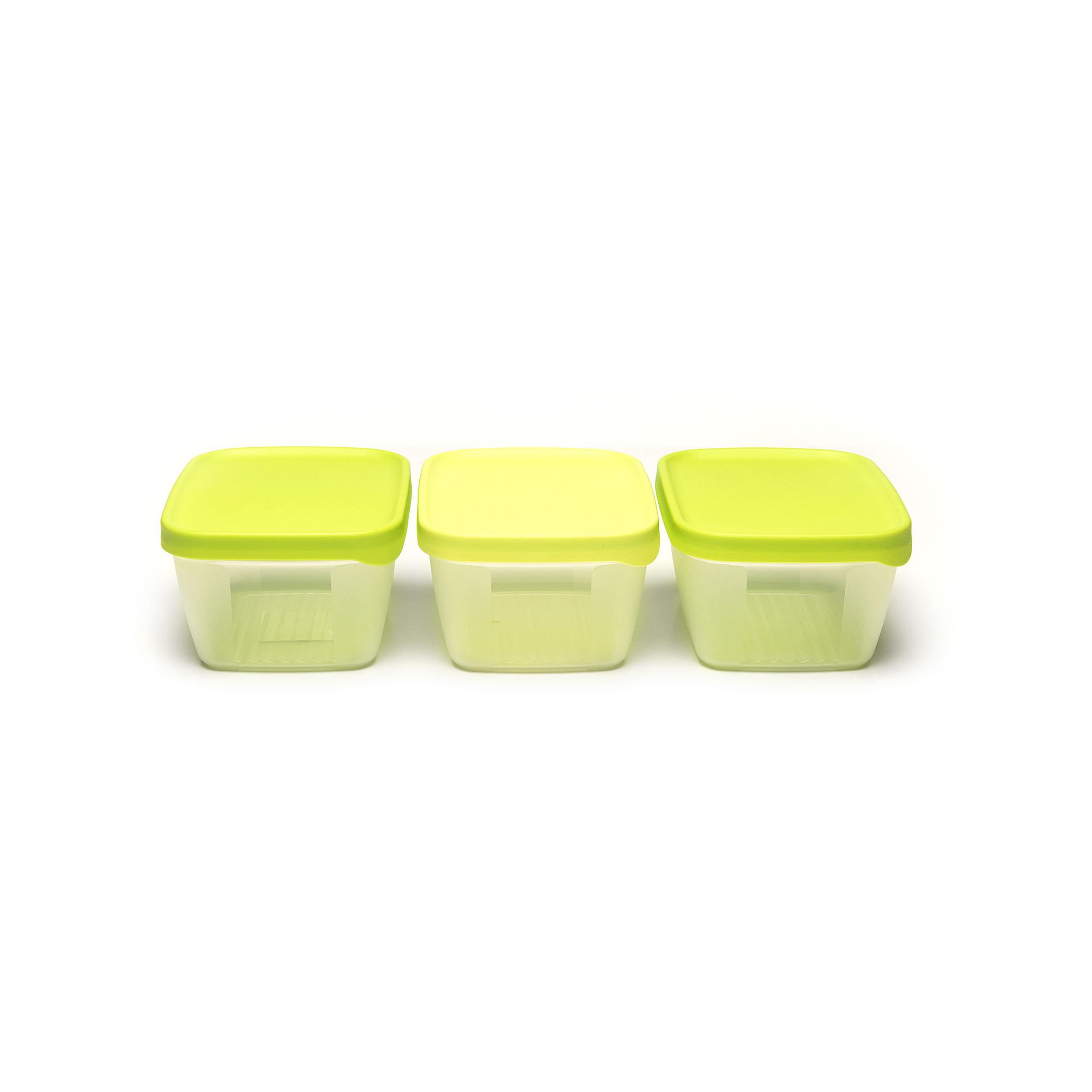 Optifridge™ 900ml(3pcs) - ....The OptiFridge® and your fridge are the perfect partners. Thanks to its dimensions it fits perfectly into every fridge. The boxes can be stacked on top of or inside each other and are easy to open. Can you use them in the microwave? Are they suitable for the dishwasher? This great product stands up to everything. ..L'OptiFridge® et votre frigo sont faits l'une pour l'autre. Ses dimensions parfaites la destinent à chaque frigo. Les boîtes sont empilables, emboîtables et faciles à ouvrir. Des aliments à réchauffer au micro-ondes ? Un nettoyage au lave-vaisselle ? Ce petit bijou se prête à tout. ..De OptiFridge® en jouw koelkast zijn voor elkaar gemaakt. Dankzij zijn perfecte afmetingen past hij in elke koelkast. De dozen zijn stapelbaar, nestbaar en gemakkelijk open te krijgen. Opwarmen in de microgolfoven? Schoonmaken in de vaatwasser? Deze uitblinker laat het zich allemaal welgevallen. ..Der OptiFridge® und Ihr Kühlschrank sind füreinander gemacht. Dank der perfekten Abmessungen passt er in jeden Kühlschrank. Die Behälter sind stapelbar, schachtelbar und einfach zu öffnen. Aufwärmen in der Mikrowelle? Reinigen im Geschirrspüler? Dieser Musterschüler lässt sich alles gefallen. ....
