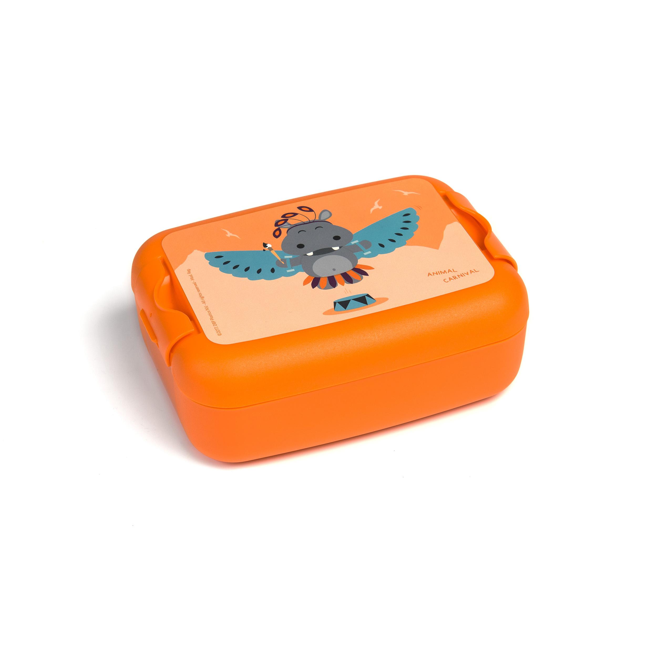 Animal Carnival Lunchbox Hippo -