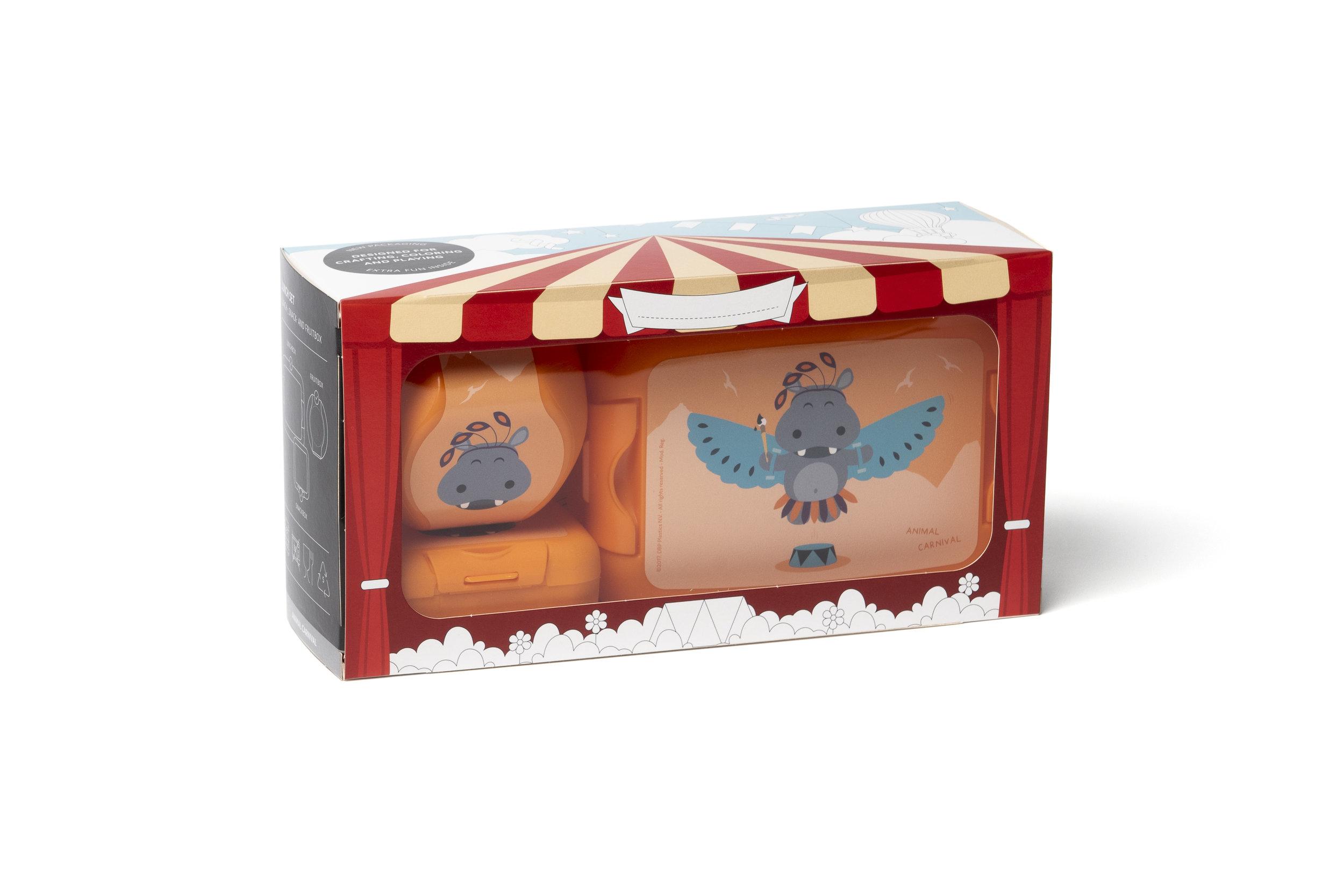 Animal Carnival Gift Box Hippo -