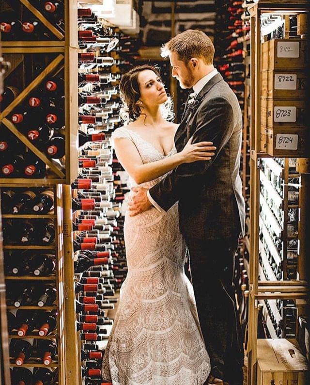 Not only does our Wine Cellar make the fantastic backdrop for special moments and photos like this one from bride and groom Rachel + David, it's the perfect setting to host your next corporate dinner or group gathering.⠀⠀⠀⠀⠀⠀⠀⠀⠀ ⠀⠀⠀⠀⠀⠀⠀⠀⠀ Did we mention that Antrim 1844 boasts one of the largest restaurant wine collections on the East Coast. Sample a glass from our award-winning cellar of over 20,000 bottles.⠀⠀⠀⠀⠀⠀⠀⠀⠀ ⠀⠀⠀⠀⠀⠀⠀⠀⠀⠀⠀⠀⠀⠀⠀⠀⠀⠀ P.S. View more amazing wedding photos from this couple as well as other stunning wedding galleries via our website (drop down on the 'More' menu to view 'Real Wedding Galleries').⠀⠀⠀⠀⠀⠀⠀⠀⠀ ⠀⠀⠀⠀⠀⠀⠀⠀⠀⠀⠀⠀⠀⠀⠀⠀⠀⠀ ⠀⠀⠀⠀⠀⠀⠀⠀⠀⠀⠀⠀⠀⠀⠀⠀⠀⠀ |👰🏻🤵🏻Rachel + David ⠀⠀⠀⠀⠀⠀⠀⠀⠀ | 📷 @lisarobinphotography ⠀⠀⠀⠀⠀⠀⠀⠀⠀ | 🏢@Antrim1844 - Wine Cellar⠀⠀⠀⠀⠀⠀⠀⠀⠀ ⠀⠀⠀⠀⠀⠀⠀⠀⠀ #antrim1844 #antrim1844wedding #marylandbride #marylandwedding #frederickwedding #frederickweddings #frederickbride #frederickmd #pursueprettywedding #luxurywedding #floralfantasy #baltimorewedding #baltimorebride #theknot #theknotandbeyond #theknotdc #theknotmagazine #weddingwire #weddingwirecoupleschoice #weddinggoals #destinationwedding #luxuryweddings #luxuryweddingdesigner #weddingplanning #weddingplanner #historicweddingvenue #historicweddinglocations #historicweddings #historichotels