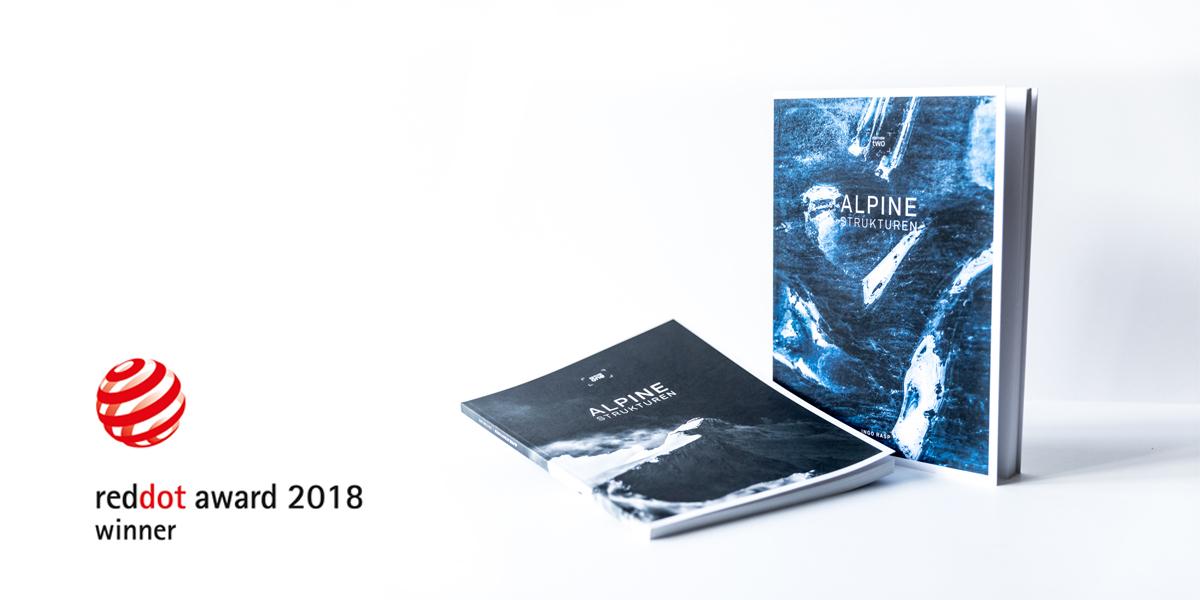 Red Dot Award Communication Design 2018 Alpine Strukturen
