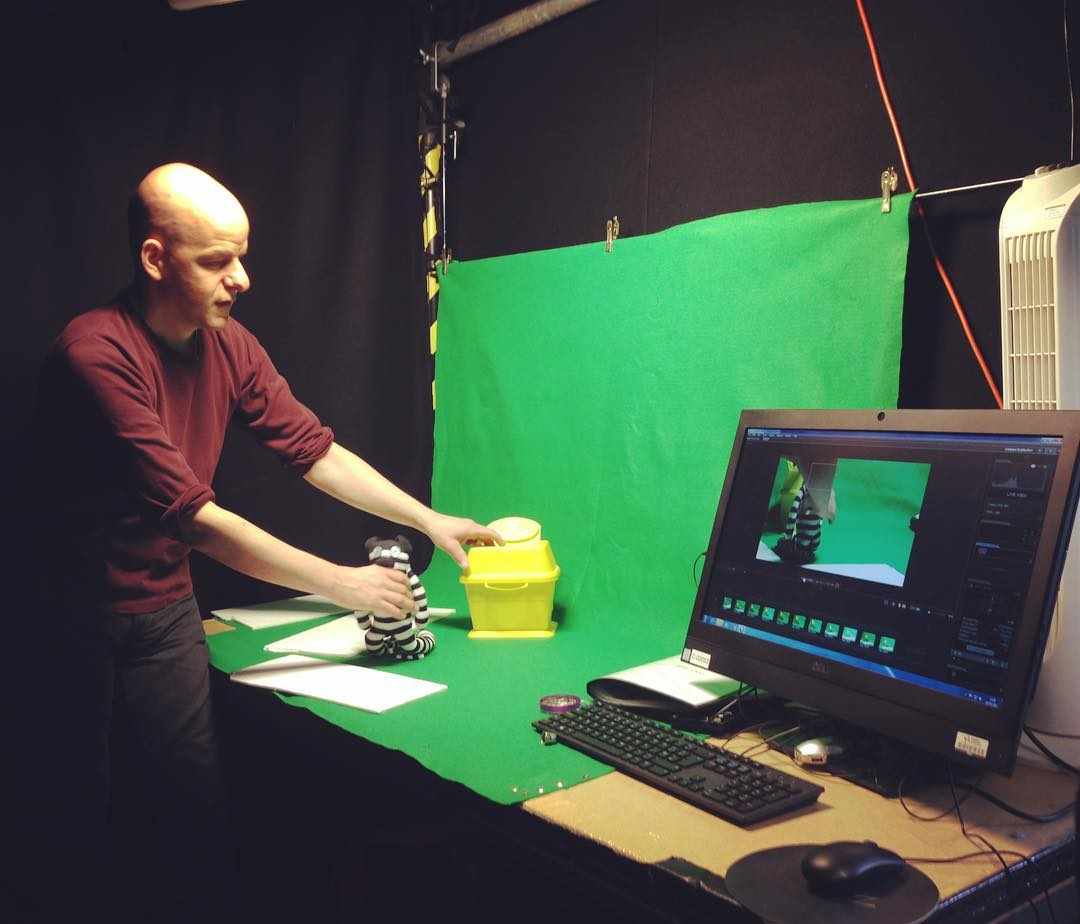Stop motion studio at NUA Animation