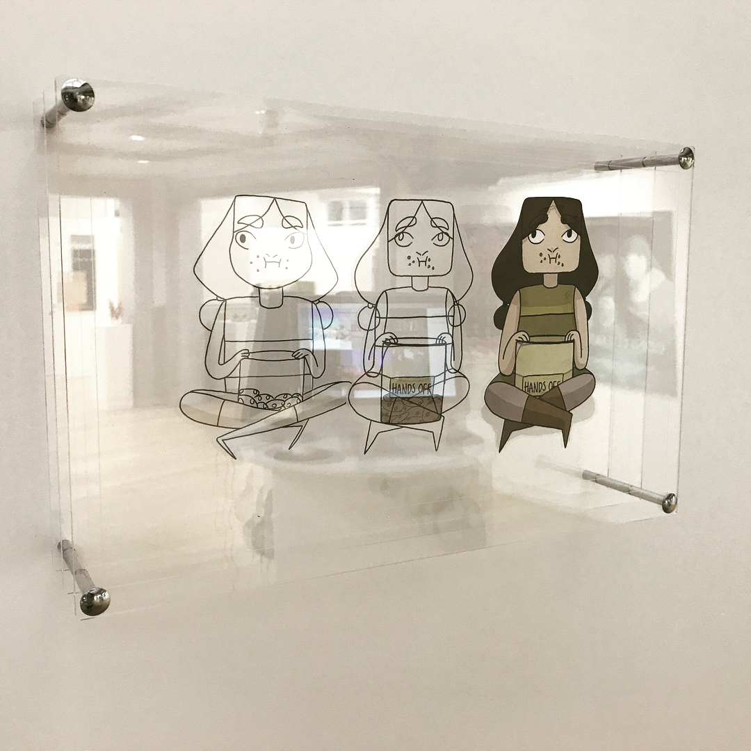 2D Animation process for NUA Animation Degree show