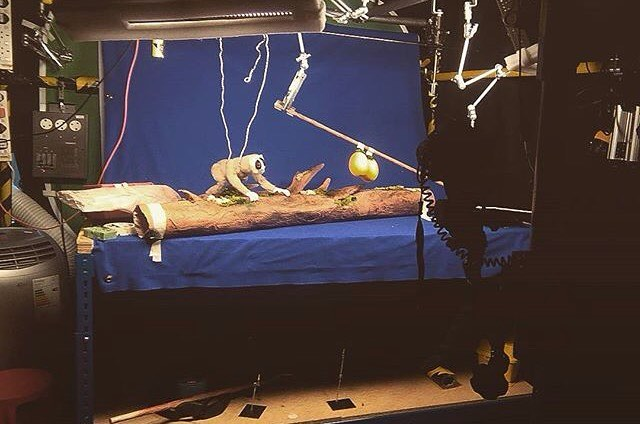 Stop motion studio filming at NUA Animation