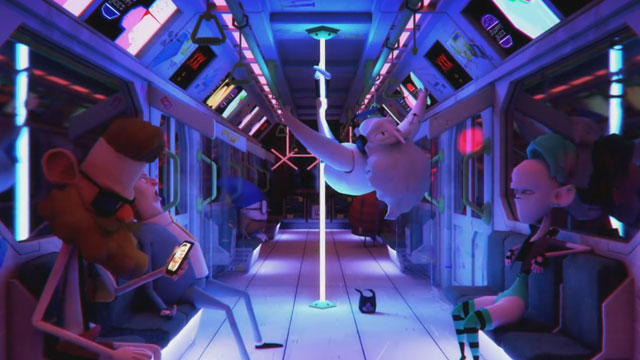 Blue Zoo's 'Commuter Glitch directed by NUA graduate Joe Kinch