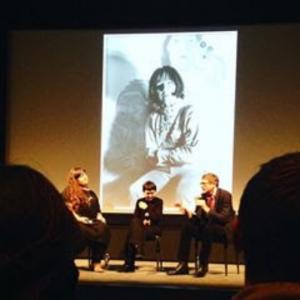 Panel discussion January 29. From left to right: Jocelyn Miller, Mara Mattuschka, Hans Werner Poshauko
