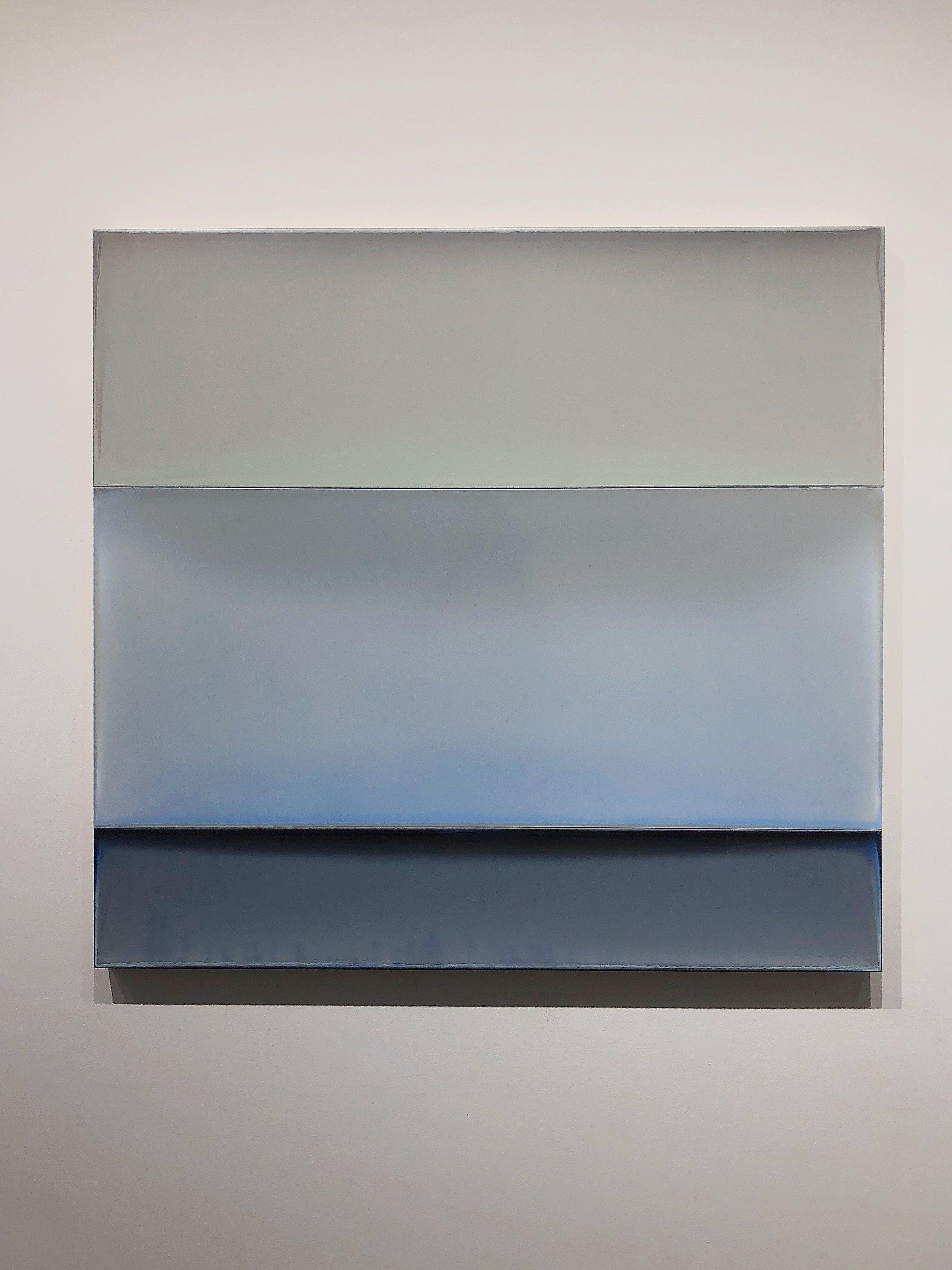 Susan English,  Verge,  tinted polymer on aluminum