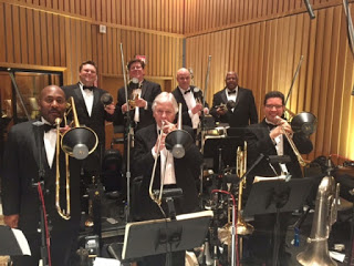 Brass Section for the 2015 Oscars in Los Angeles, CA